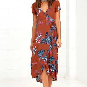 Billabong Wrap Me Up Dress
